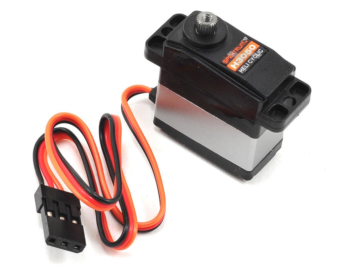 Spektrum RC H3050 Sub-Micro Digital Metal Gear Cyclic Servo (Blade 450 X)