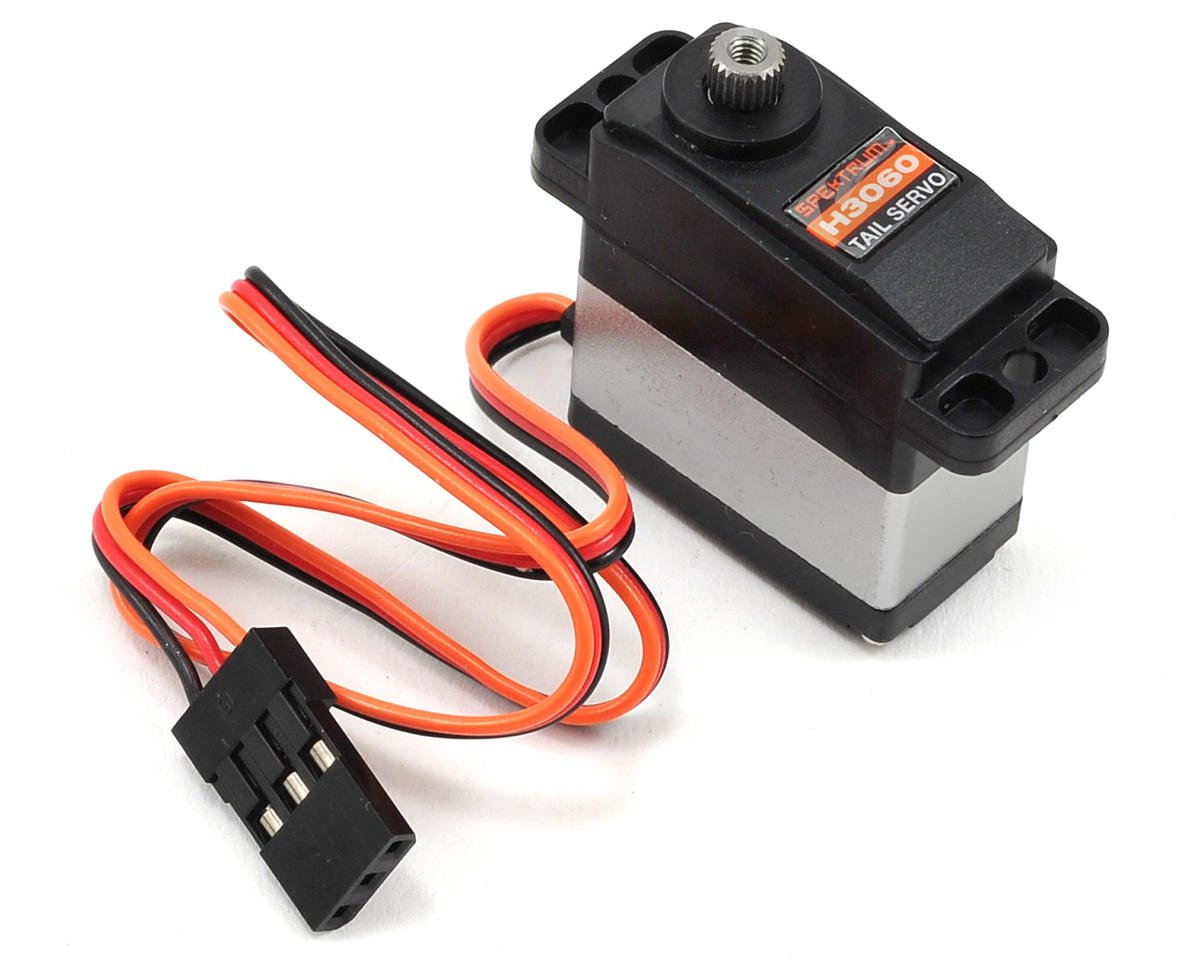 Spektrum RC H3060 Sub-Micro Digital Metal Gear Tail Servo (Blade 450 X)