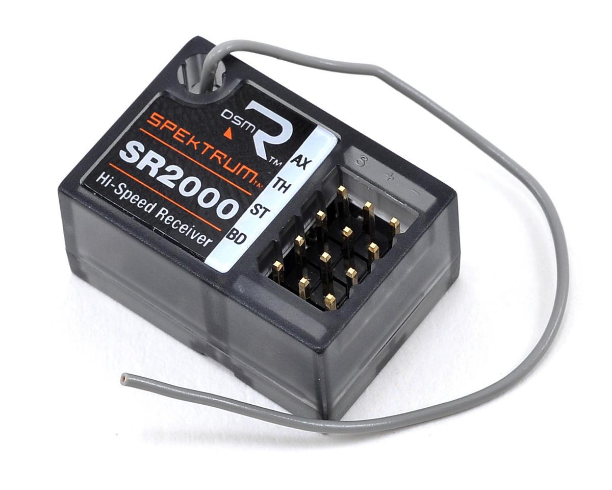 Spektrum RC SR2000 2.4GHz 2 Channel DSMR Surface Receiver