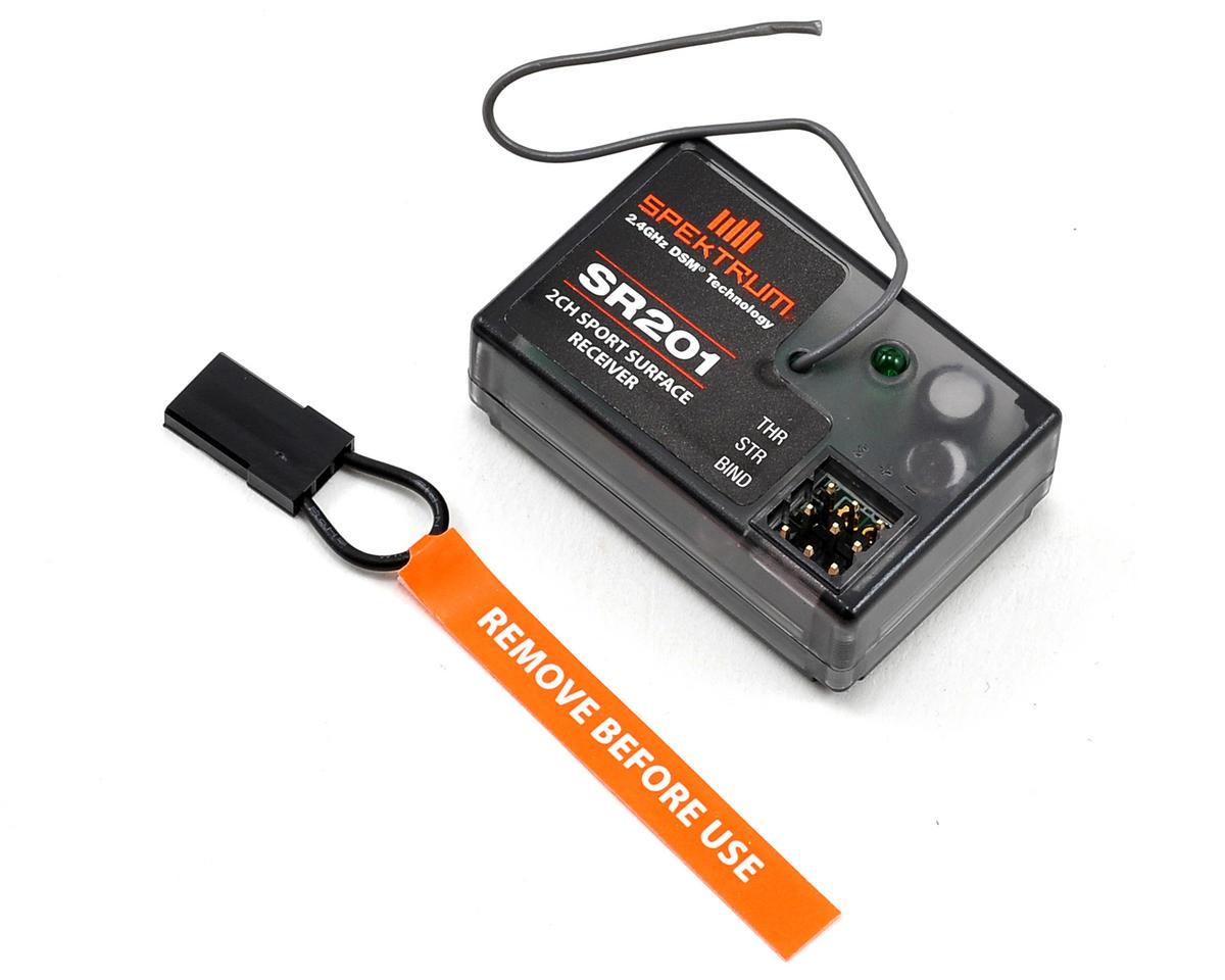 Spektrum RC SR201 2-Channel Coated DSM Sport Receiver