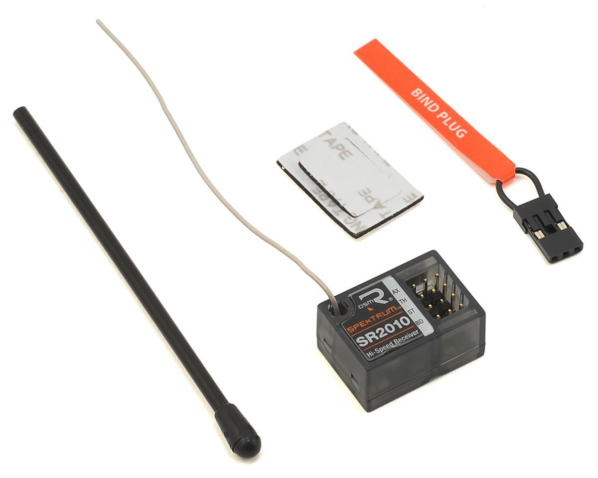 SR2010 Micro 2-Channel 2.4GHz Waterproof DSMR Receiver