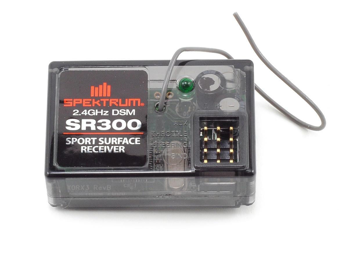 Spektrum RC SR300 3 Channel DSM Sport Surface Receiver