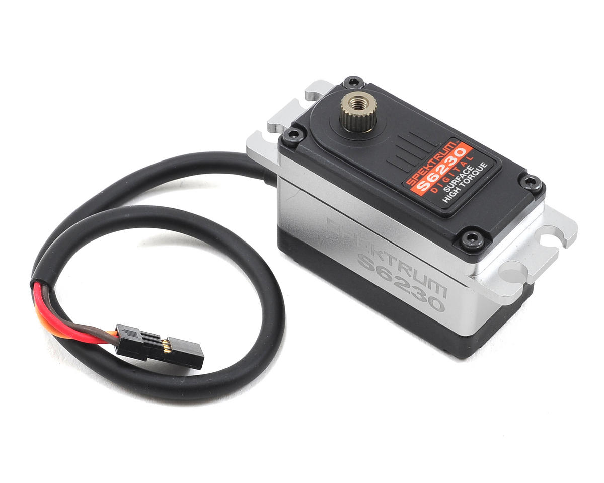 S6230 Digital Steel Gear High Torque Low Profile Servo by Spektrum RC