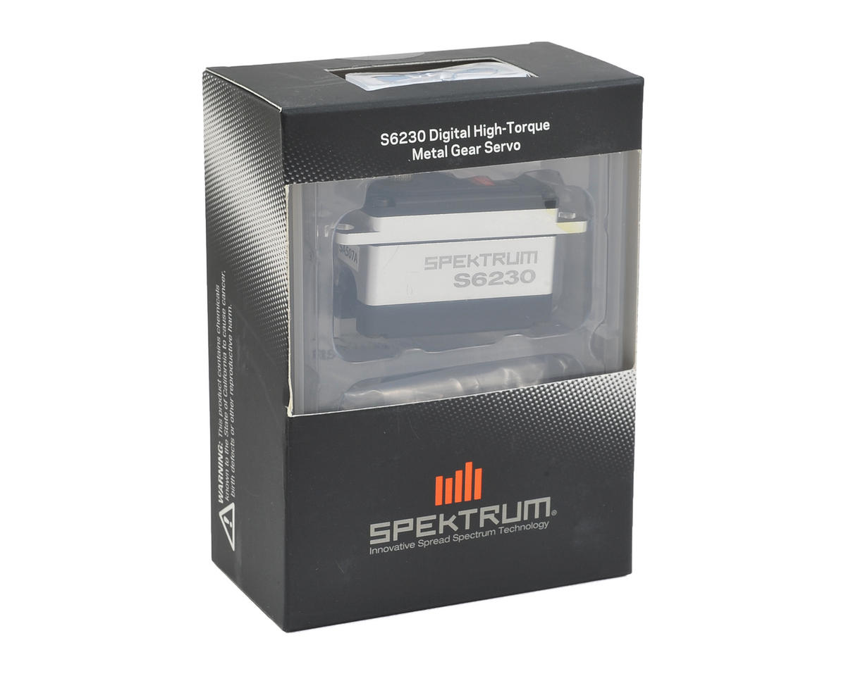 Spektrum RC S6230 Digital Steel Gear High Torque Low Profile Servo