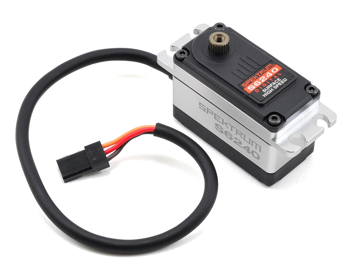 Spektrum RC S6240 Digital Steel Gear High Speed Low Profile Servo