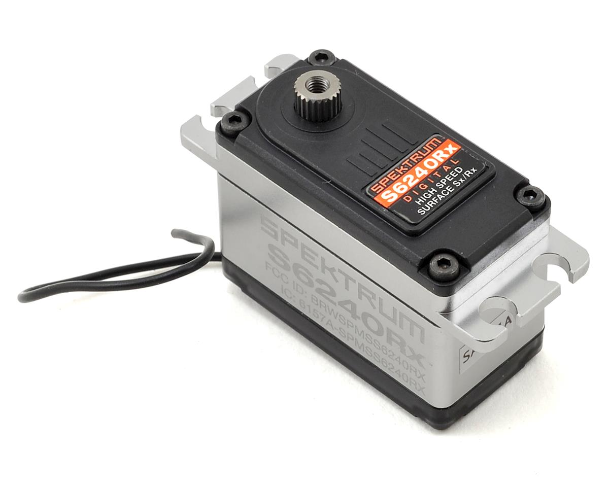 S6240RX High Speed Digital Servo w/Integrated DSMR Receiver by Spektrum RC