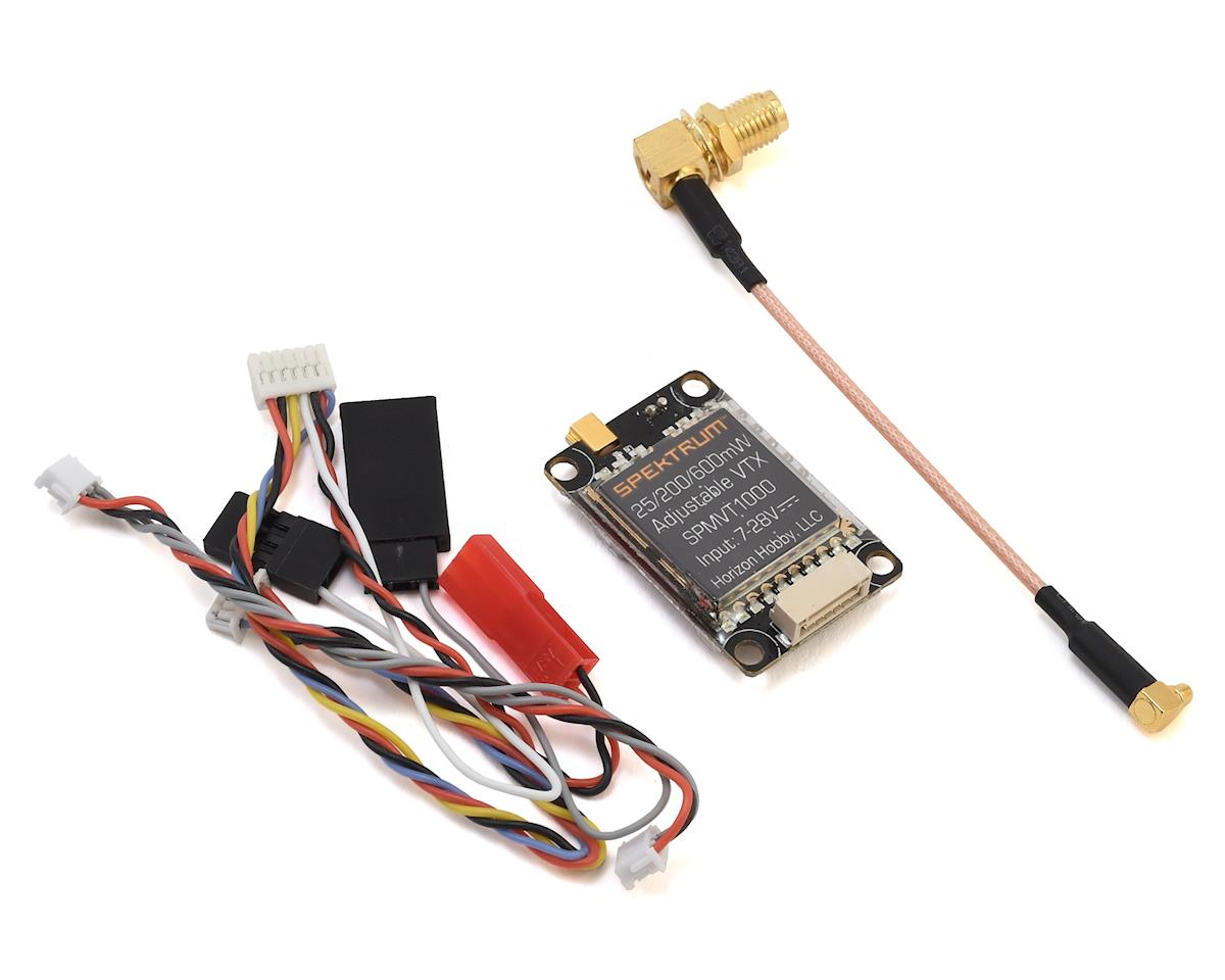 Spektrum RC VT1000 25/200/600mW Adjustable Power Video Transmitter (Blade Scimitar 170 FPV)