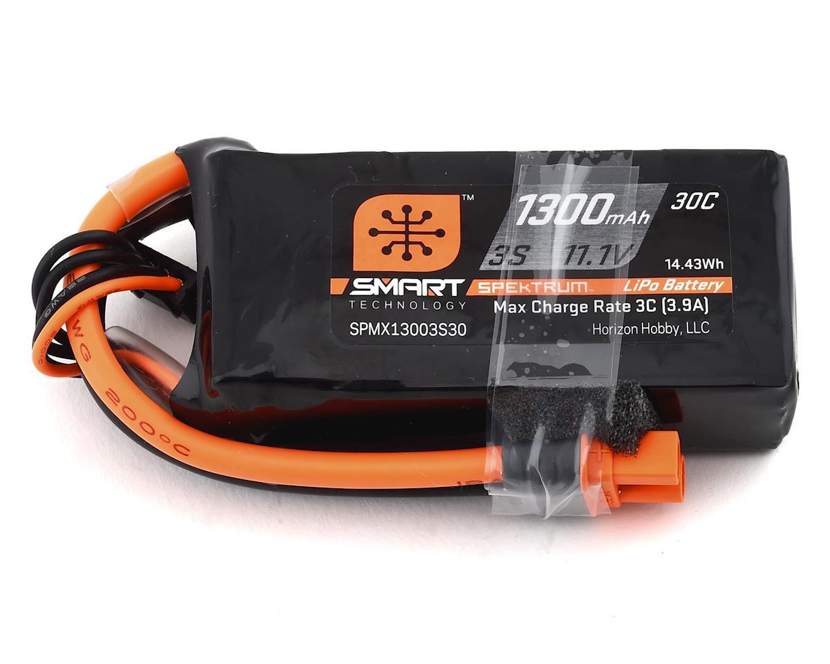Spektrum RC 3S 11.1V 1300mAh 30C Smart LiPo