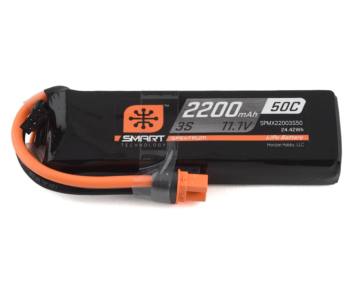 Spektrum RC 3S Smart LiPo Hard Case Battery Pack w/IC3 Connector (11.1V/2200mAh)