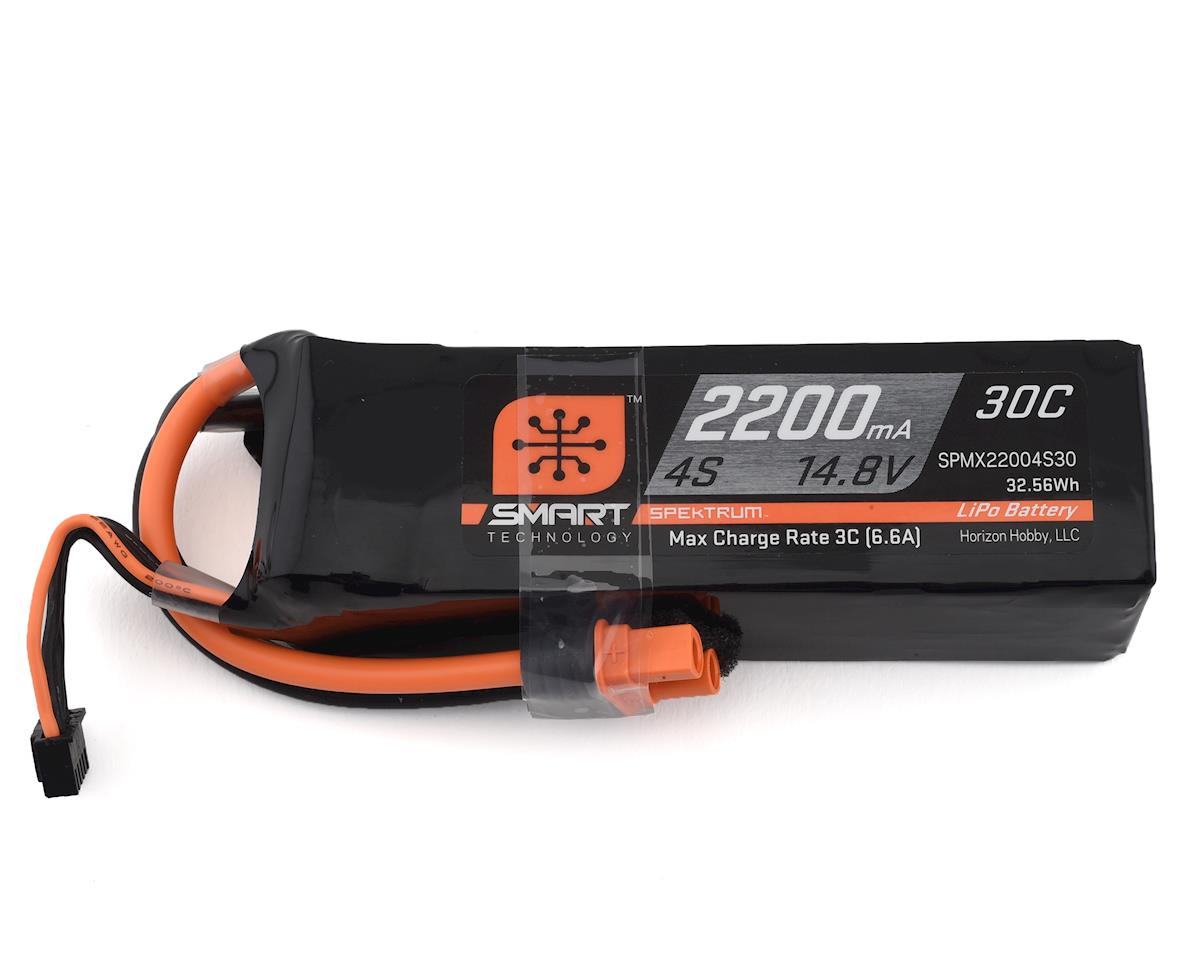 Spektrum RC 4S Smart LiPo Battery Pack w/IC3 Connector (14.8V/2200mAh)