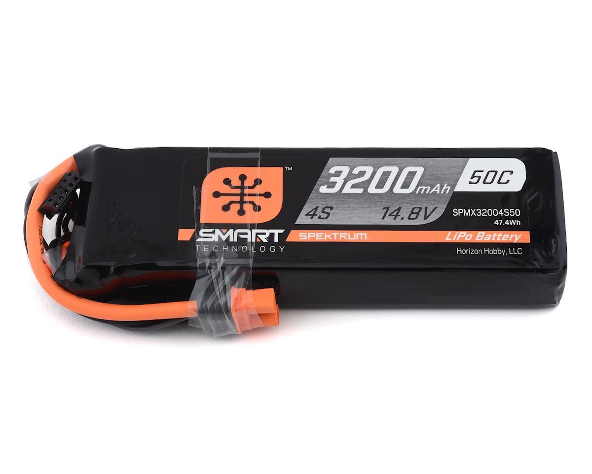 Spektrum RC 4S Smart LiPo Battery Pack w/IC3 Connector (14.8V/3200mAh)