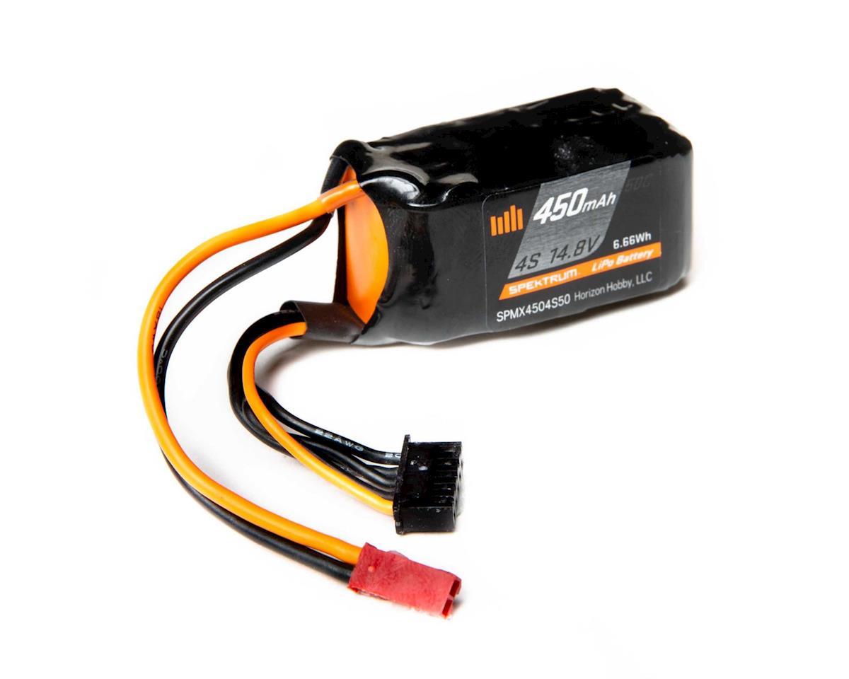 Spektrum RC 4S LiPo Battery 50C (14.8V/450mAh) | relatedproducts