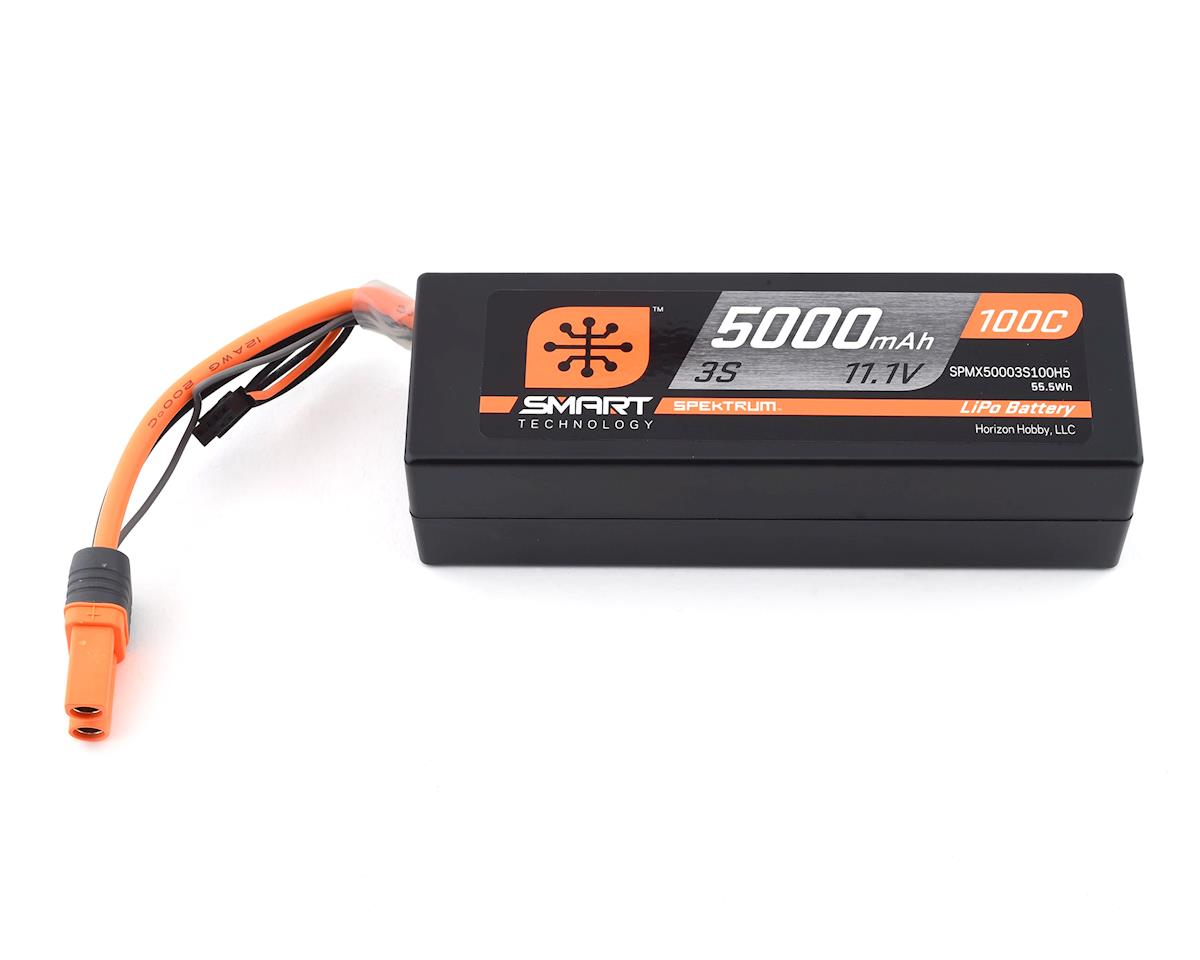 Spektrum RC 3S Smart LiPo Hard Case 100C Battery Pack (Losi Tenacity DB Pro)
