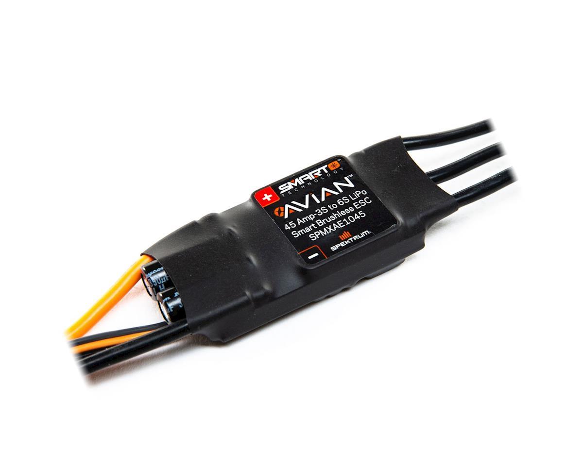 Spektrum RC Avian 45 Amp Brushless Smart ESC
