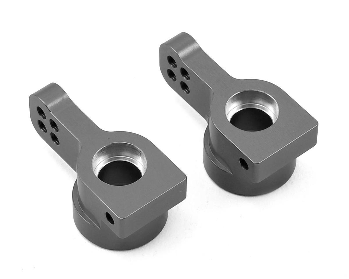 ST Racing Concepts Arrma Aluminum Rear Hub Carriers (2) (Gun Metal)
