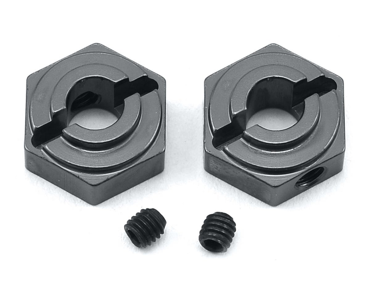 ST Racing Concepts Arrma Fury Aluminum Rear Hex Adapters (2) (Gun Metal)