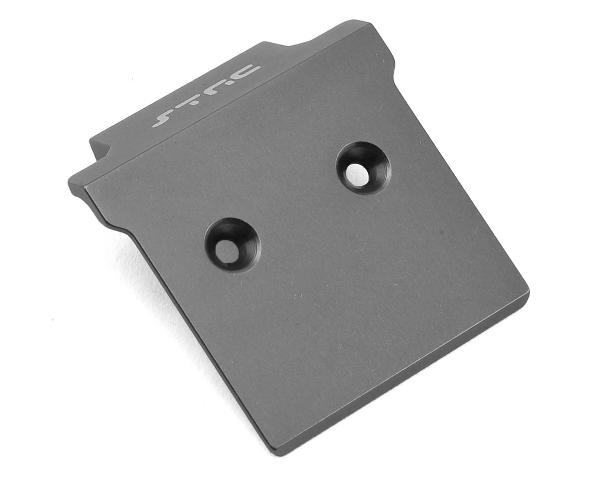 Arrma Aluminum Front Skid Plate/Bumper Mount (Gun Metal) by ST Racing Concepts