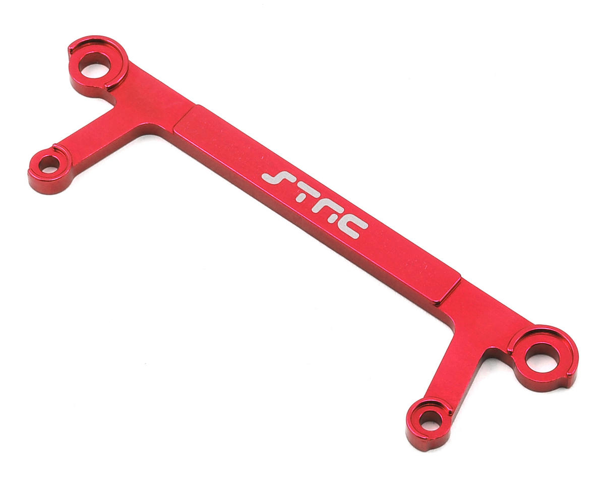 Arrma Aluminum Rear Shock Tower Brace (Red) by ST Racing Concepts