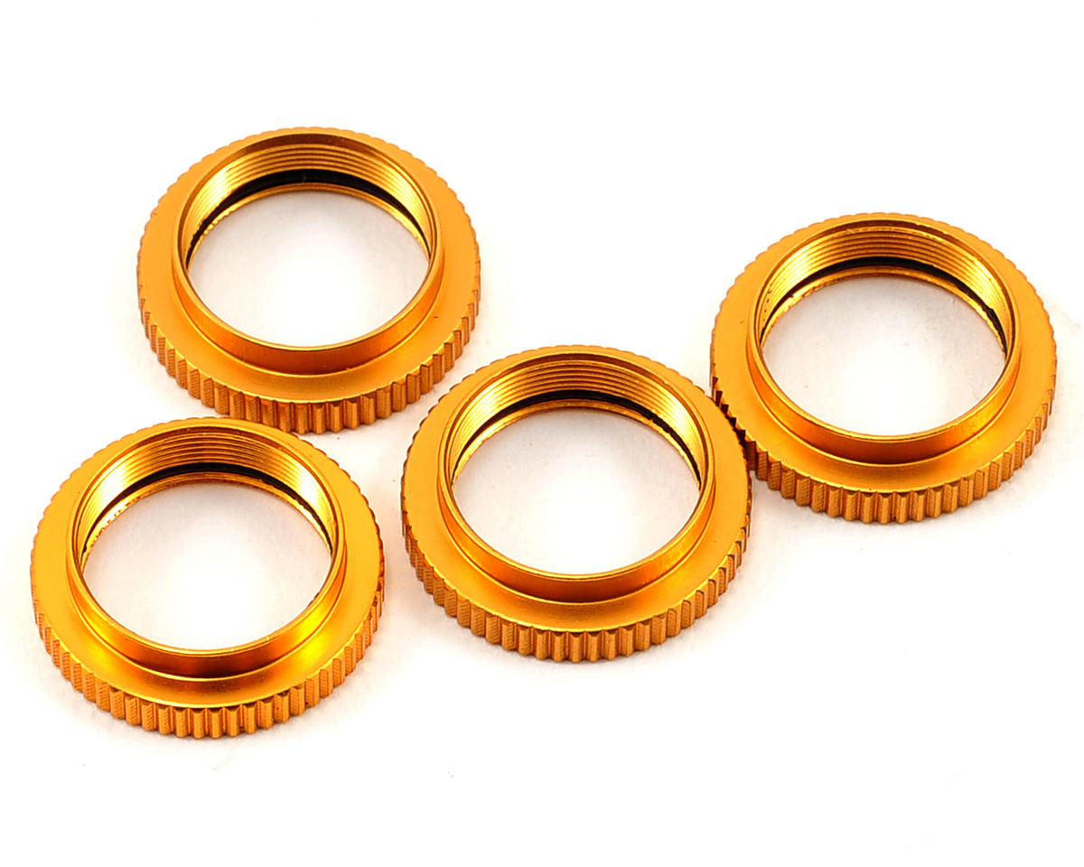 ST Racing Concepts Aluminum Shock Collars (4) (Gold)