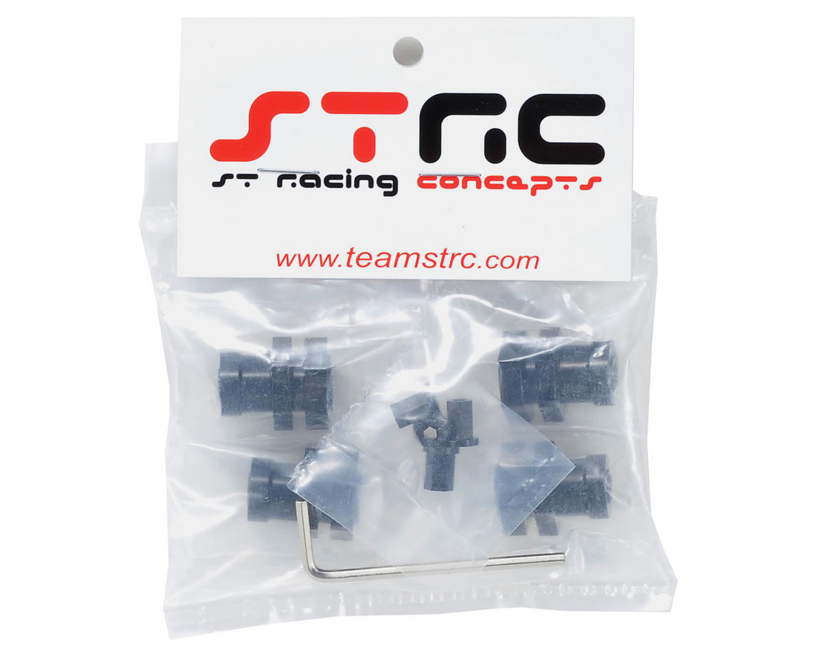 ST Racing Concepts 17mm Hex Conversion Kit (Black)