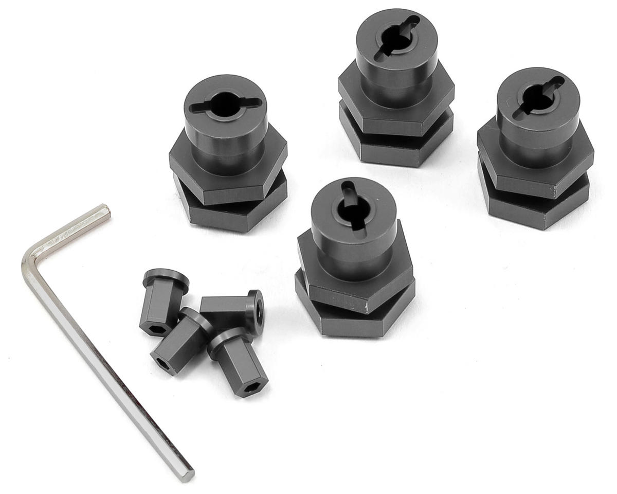 17mm Hex Conversion Kit (Gun Metal) by ST Racing Concepts
