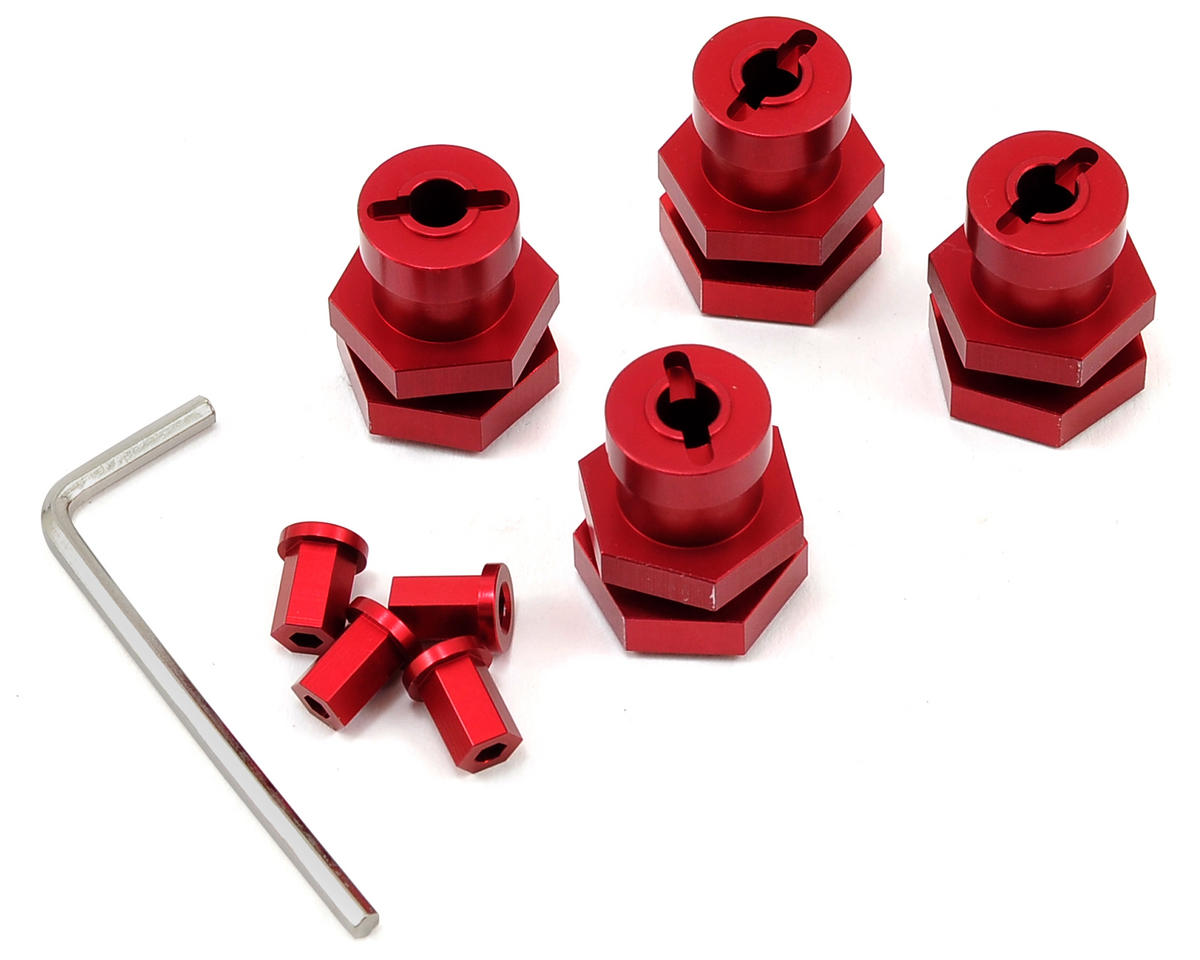 17mm Hex Conversion Kit (Red) by ST Racing Concepts