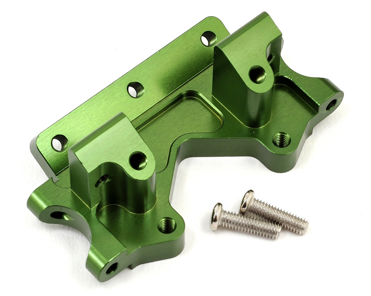 Aluminum Front Bulkhead (Green) by ST Racing Concepts