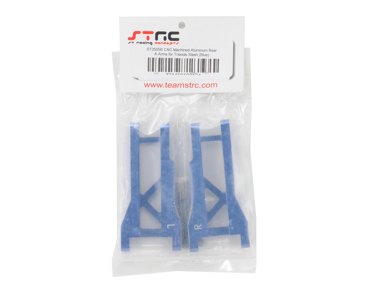 ST Racing Concepts Aluminum Rear A-Arm Set (Blue)