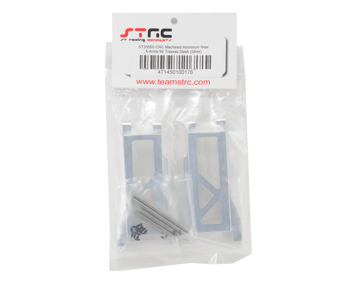 ST Racing Concepts Aluminum Rear A-Arm set (Silver)
