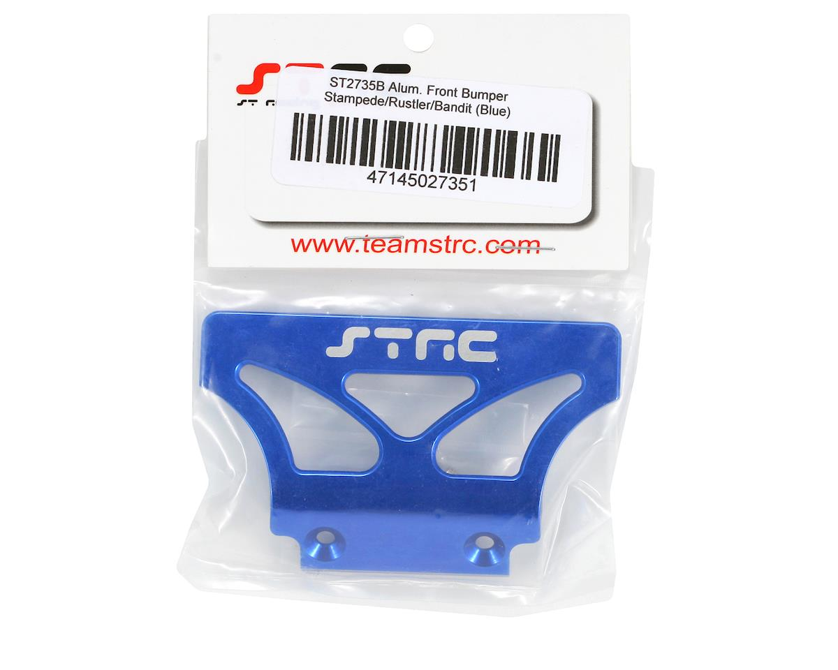 Oversized Front Bumper (Blue) by ST Racing Concepts
