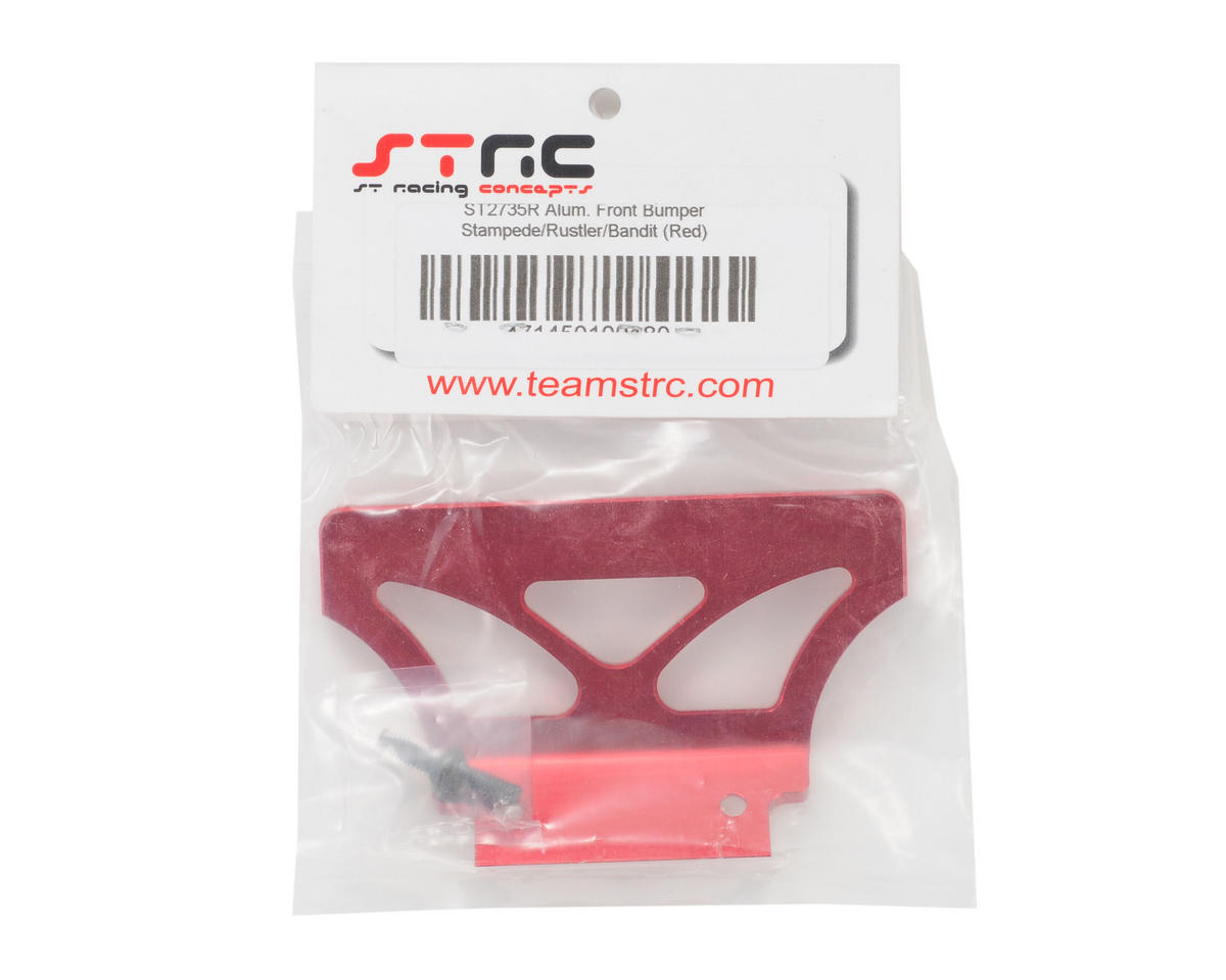 Oversized Front Bumper (Red) by ST Racing Concepts