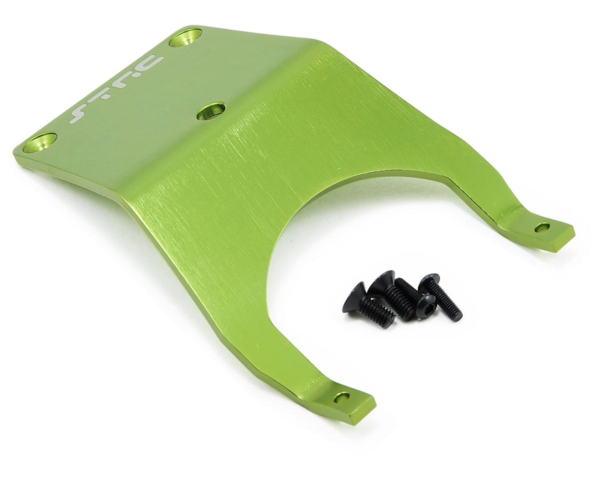 ST Racing Concepts Aluminum Front Skid Plate (Green)