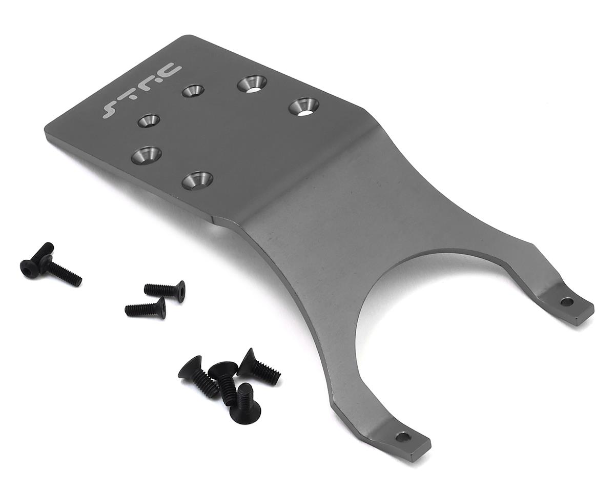 Aluminum Rear Skid Plate (Gun Metal) by ST Racing Concepts