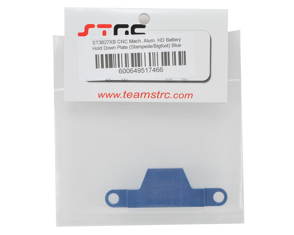 ST Racing Concepts Stampede/Bigfoot Aluminum Battery Strap (Blue)