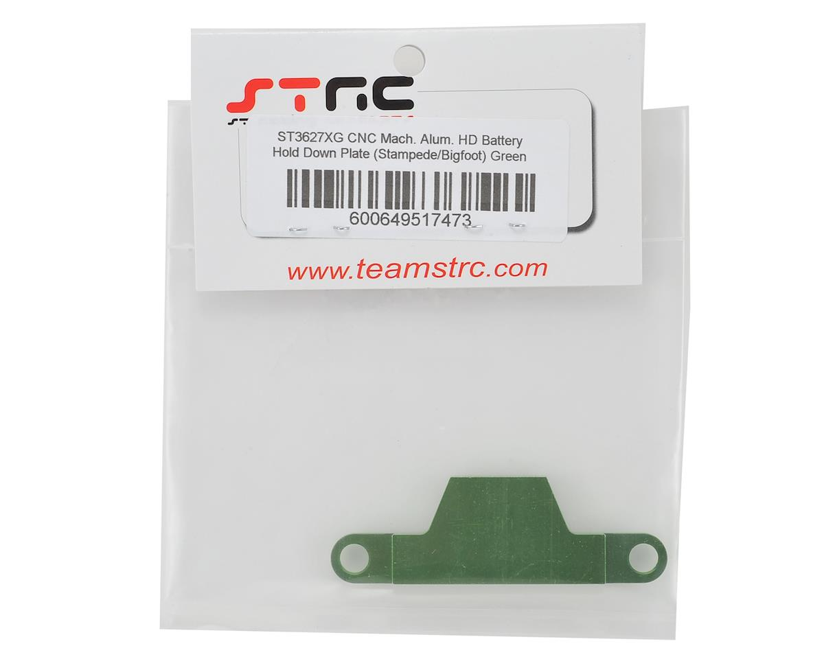 ST Racing Concepts Stampede/Bigfoot Aluminum Battery Strap (Green)
