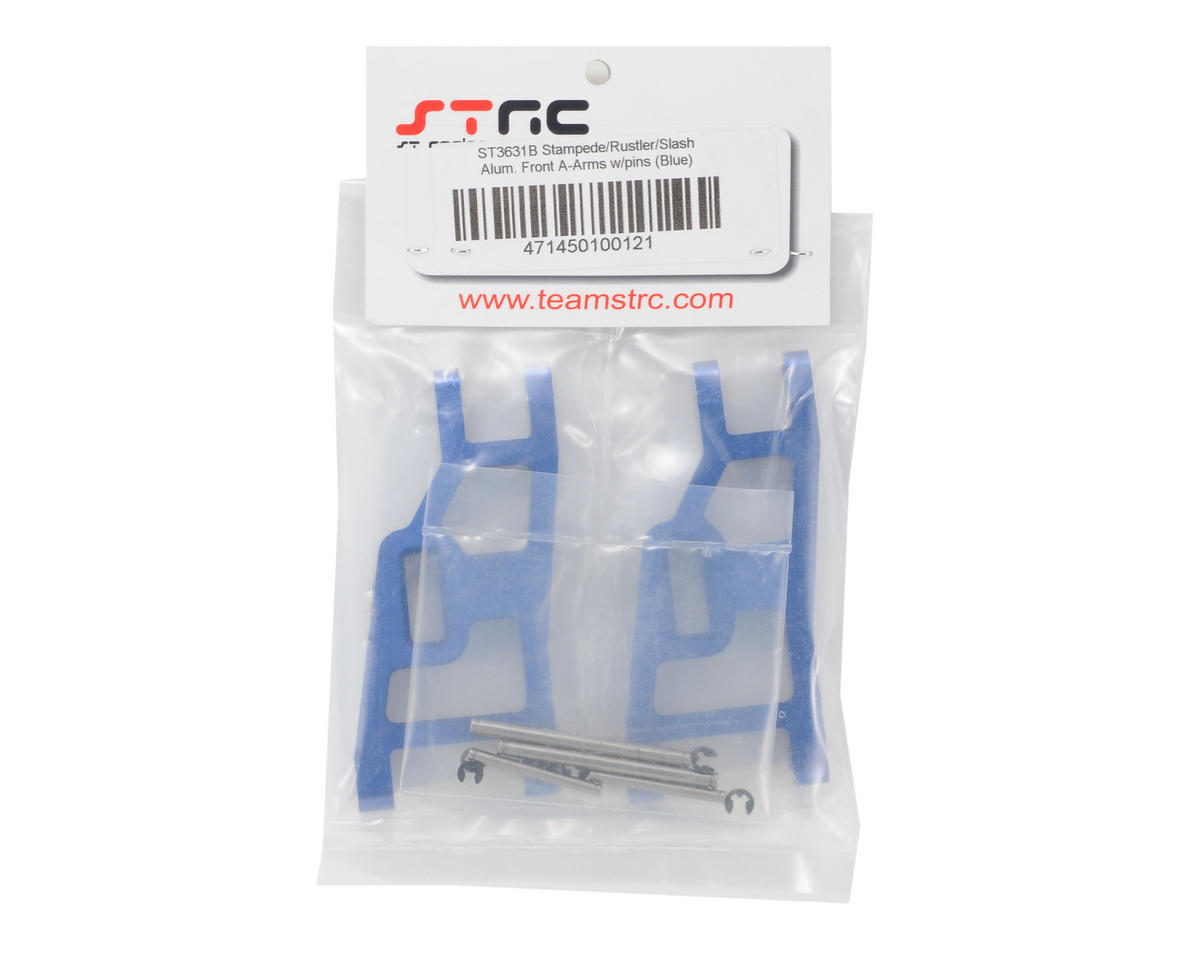ST Racing Concepts Aluminum Front A-Arm Set (Blue)