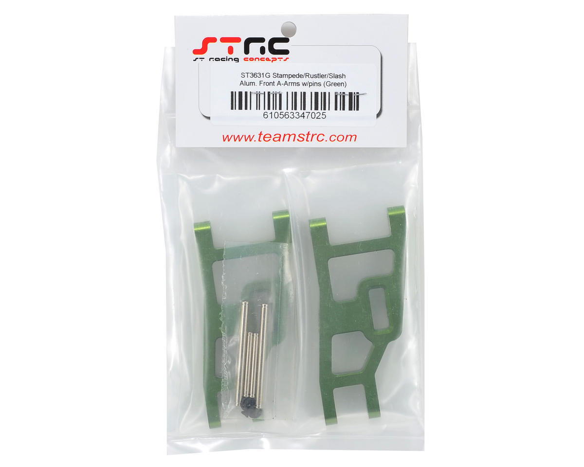 ST Racing Concepts Aluminum Front A-Arm Set (Green)
