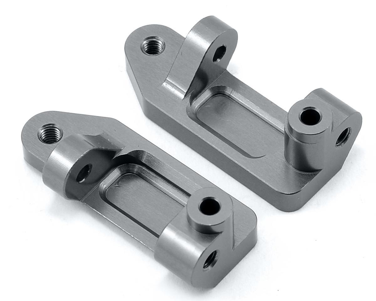 Aluminum Caster Blocks (Gun Metal) by ST Racing Concepts