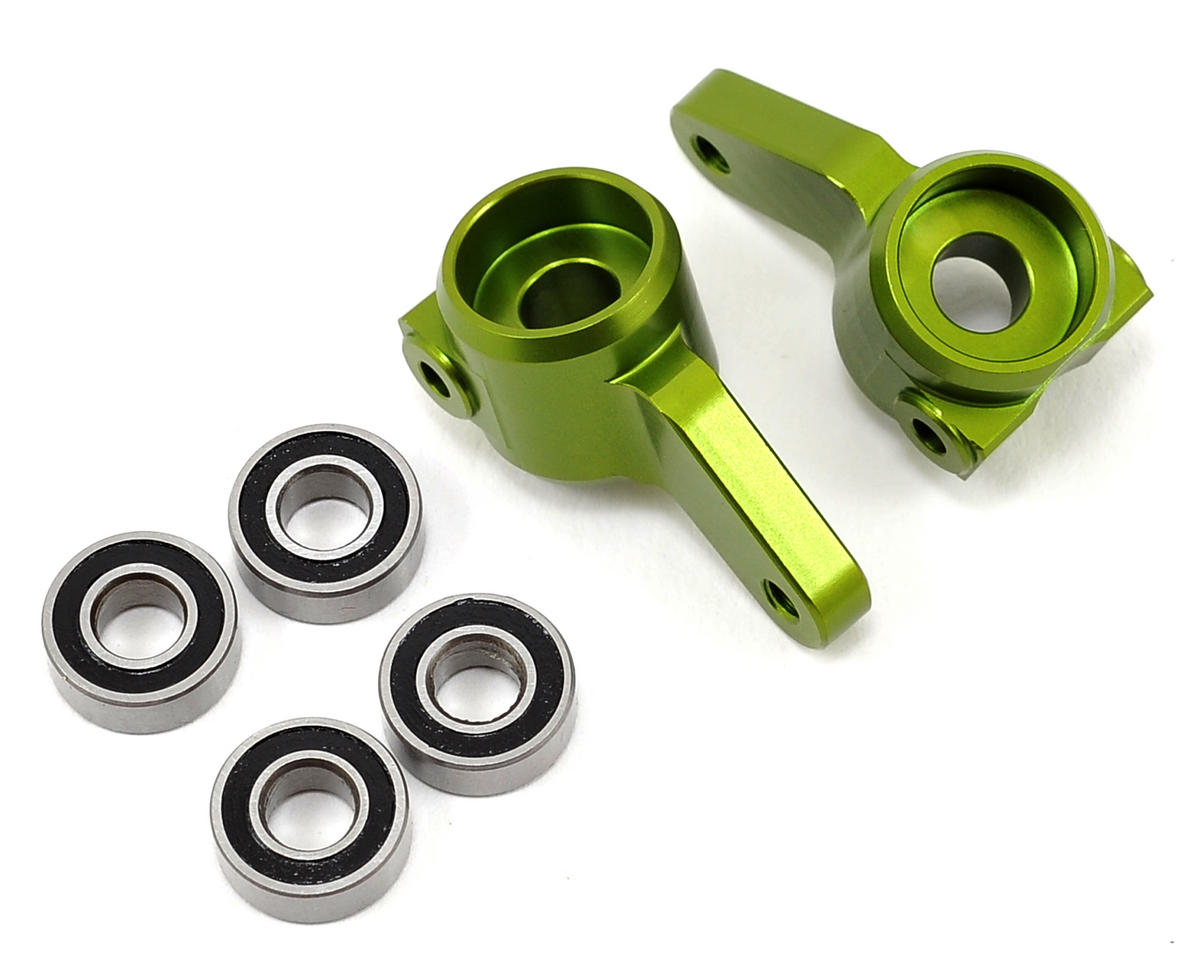 ST Racing Concepts Oversized Front Knuckles w/Bearings (Green)