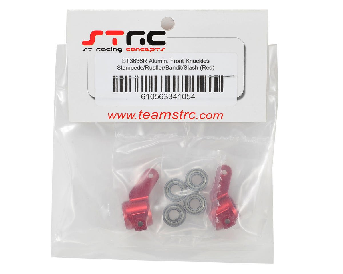 ST Racing Concepts Oversized Front Knuckles w/Bearings (Red)