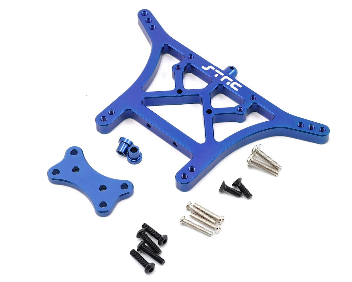 ST Racing Concepts 6mm Heavy Duty Rear Shock Tower (Blue) (Traxxas Rustler)