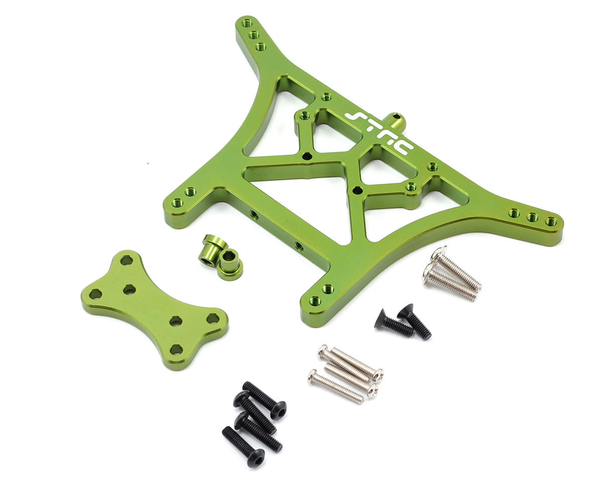 ST Racing Concepts 6mm Heavy Duty Rear Shock Tower (Green)