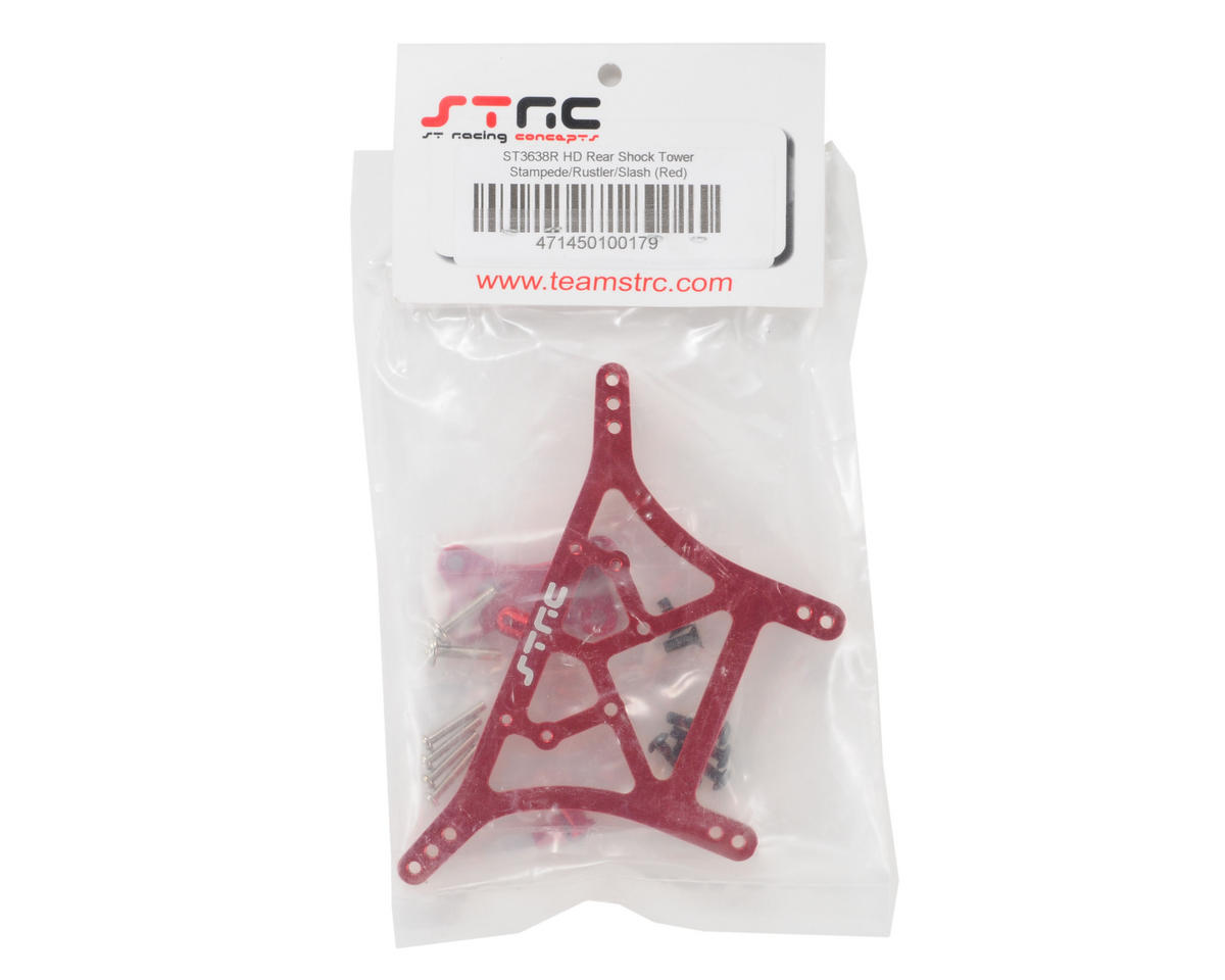 ST Racing Concepts 6mm Heavy Duty Rear Shock Tower (Red)