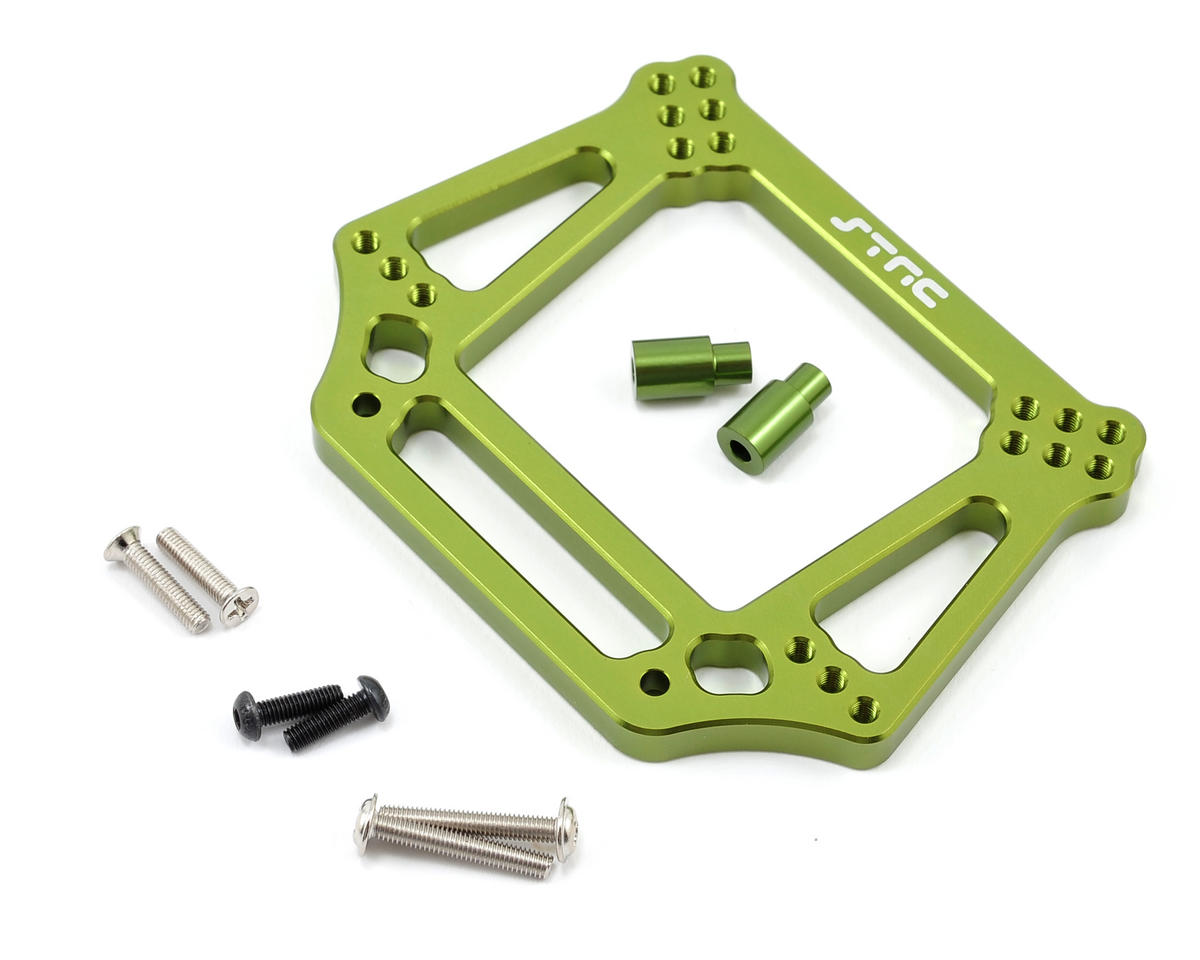 6mm Heavy Duty Front Shock Tower (Green) by ST Racing Concepts
