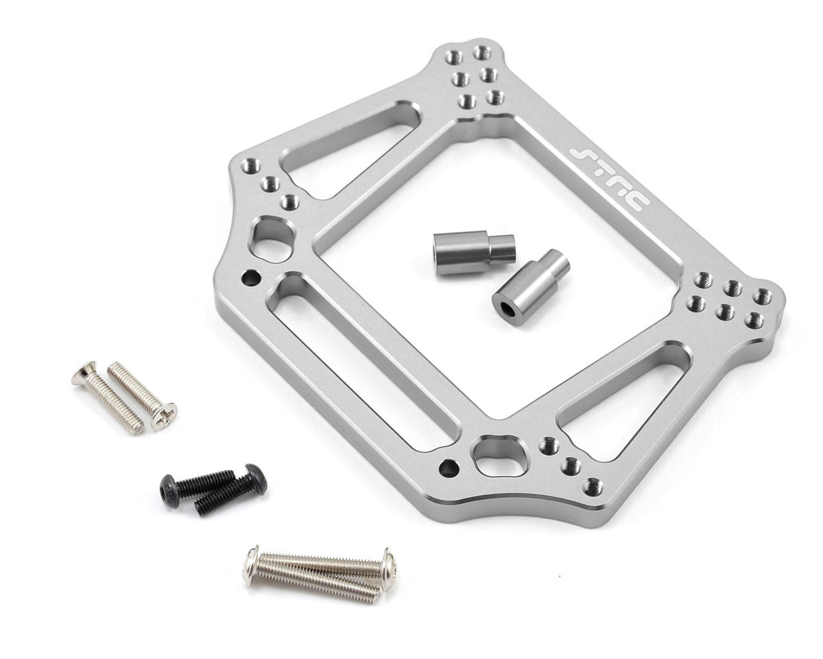 6mm Heavy Duty Front Shock Tower (Silver) by ST Racing Concepts
