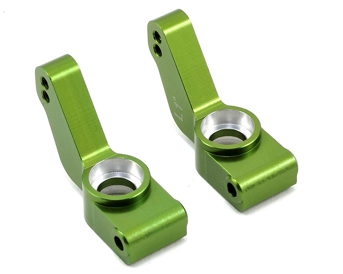 ST Racing Concepts Aluminum 1° Toe-In Rear Hub Carriers (Green)