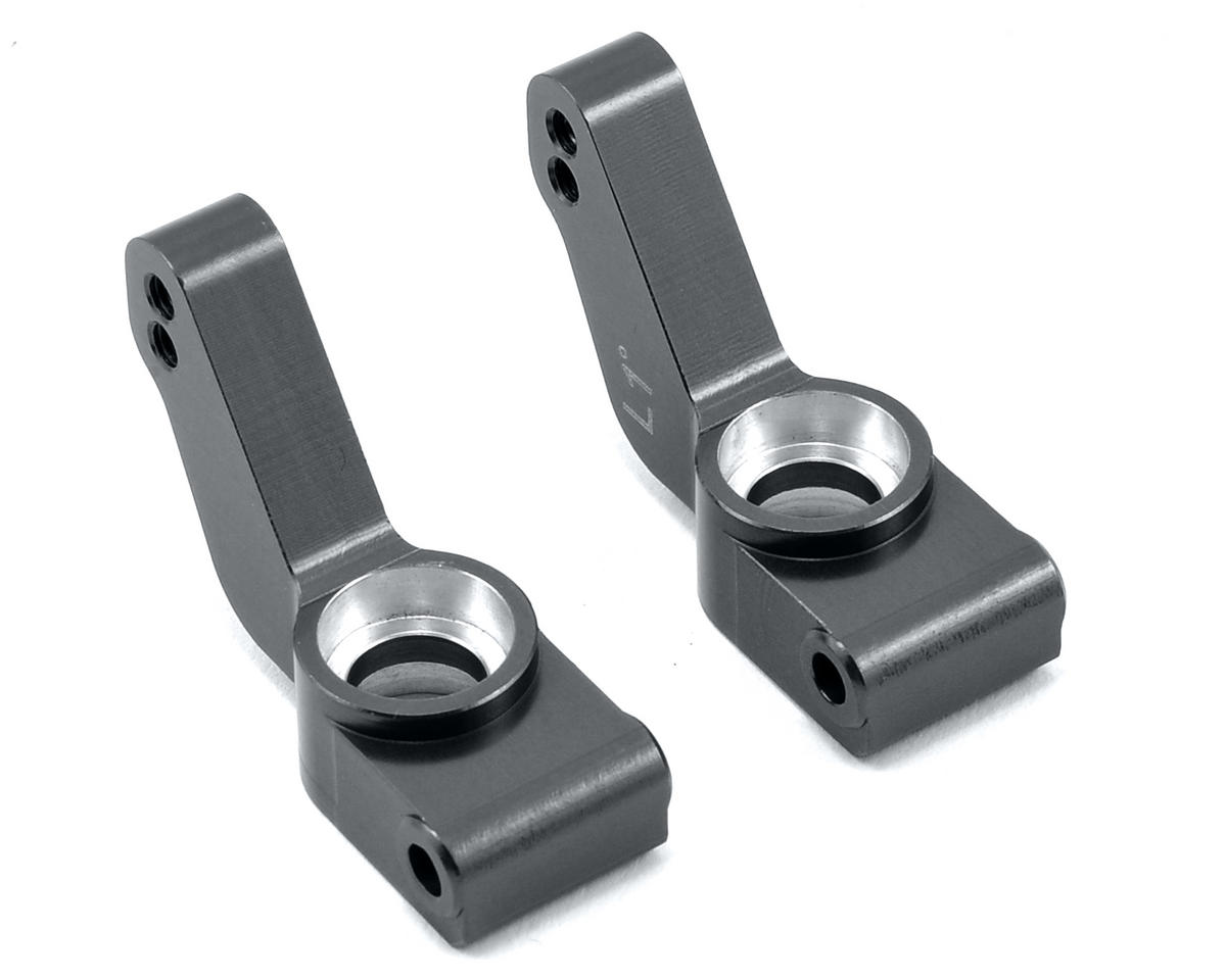 ST Racing Concepts Aluminum 1° Toe-In Rear Hub Carriers (Gun Metal)