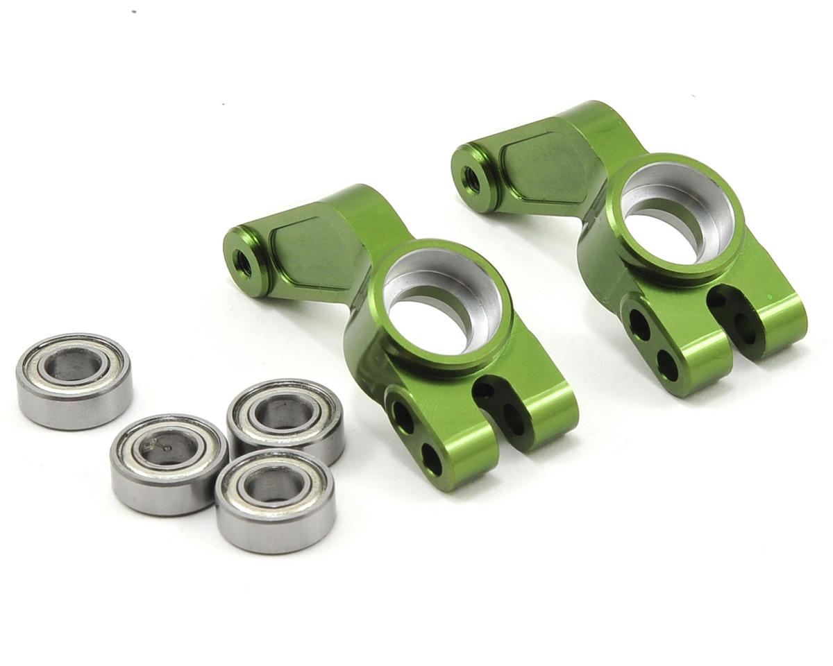 Oversized Rear Hub Carrier w/Bearings (Green) by ST Racing Concepts