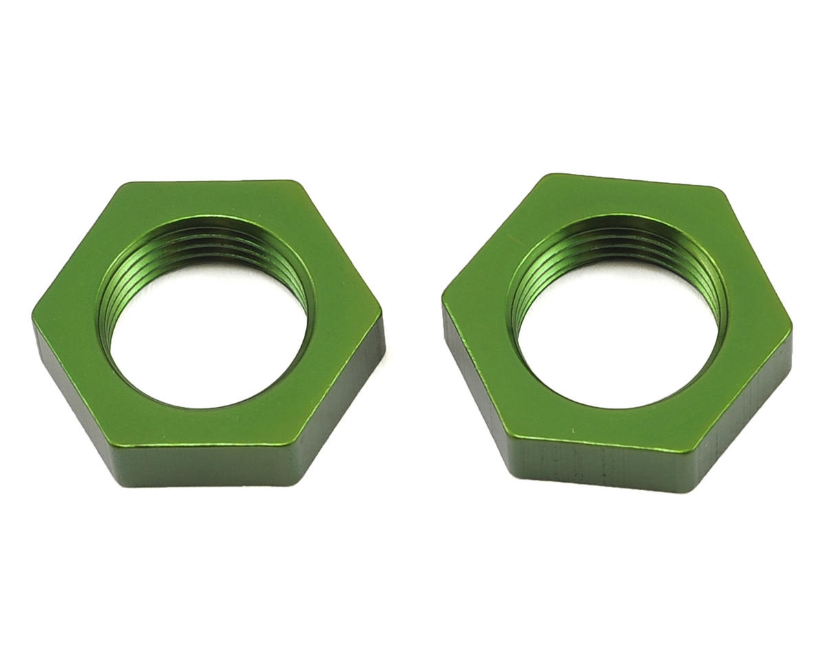 ST Racing Concepts Wraith Aluminum 17mm Hex Nut (2) (Green)