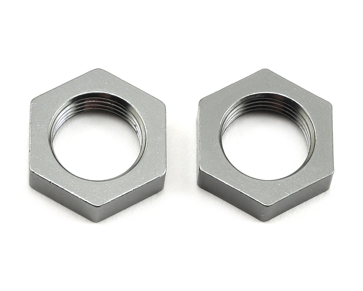 ST Racing Concepts Wraith Aluminum 17mm Hex Nut (2) (Gun Metal)